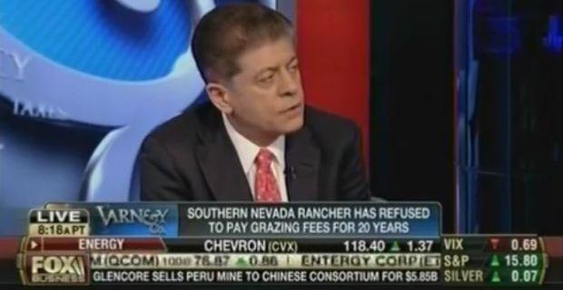 "Judge Napolitano: Ranch Rebellion Was Americans' ""Line in theSand"""