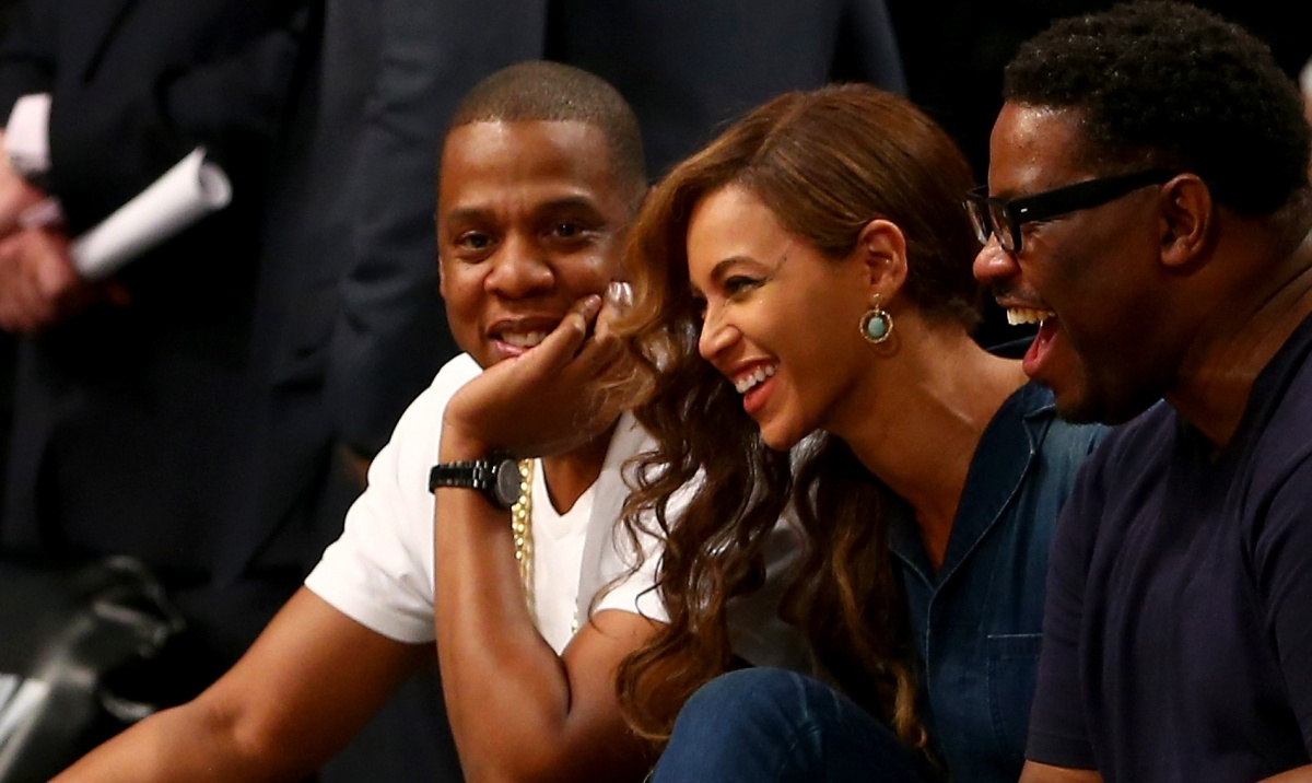 What Fight? Jay Z & Beyonce Enjoy Brooklyn Nets Game After Solange ThrowdownLeaks