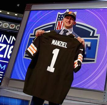 'Did the NFL just tweet this?' Mixed reaction to league mockery of #SadManziel on draftnight