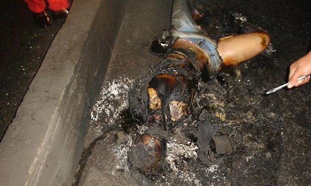 Woman Burned to death 2