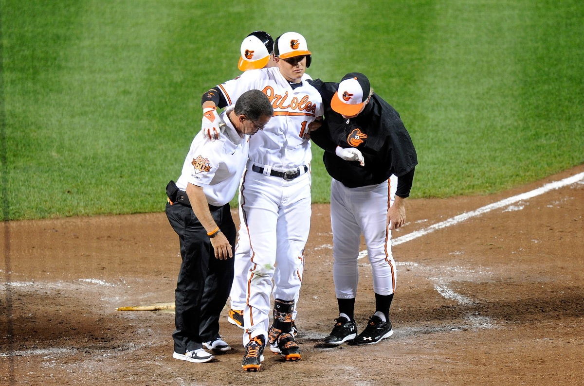 Orioles Place 3B Machado On DL With KneeInjury