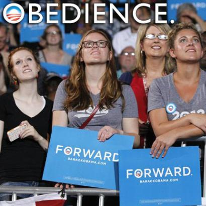 'Speechless': Utah high school gets its Obama-worship on[photo]