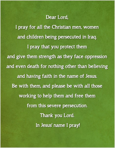 Prayer for thePersecuted