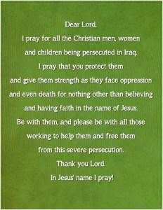 Prayer for Christians