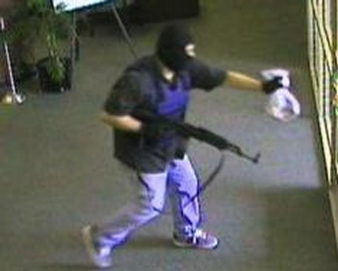 Hunt for AK-47 Bandit goes national after he strikesagain